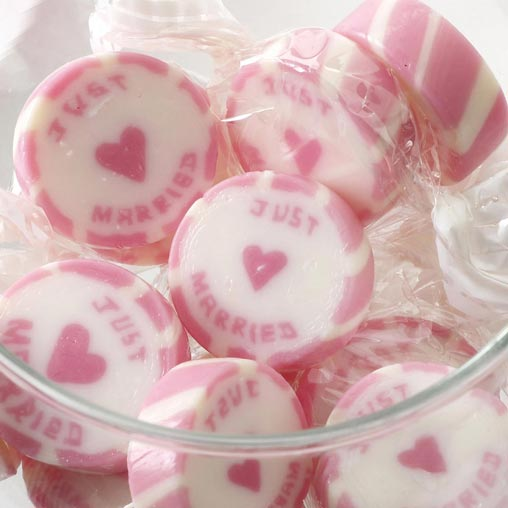 Rock Sweets - Just Married Pink