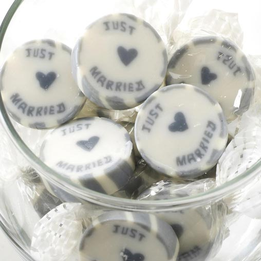 Rock Sweets - Just Married Silver