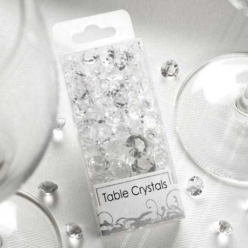 Table Crystals - Clear 50g Pack