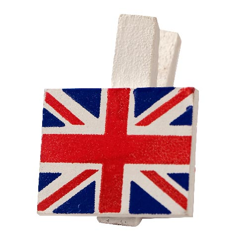 Celebrate Britain - Pegs - 20 Pack