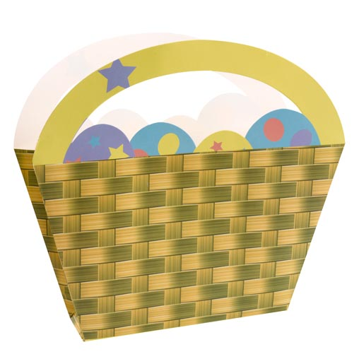 Easter Chick Paper Baskets
