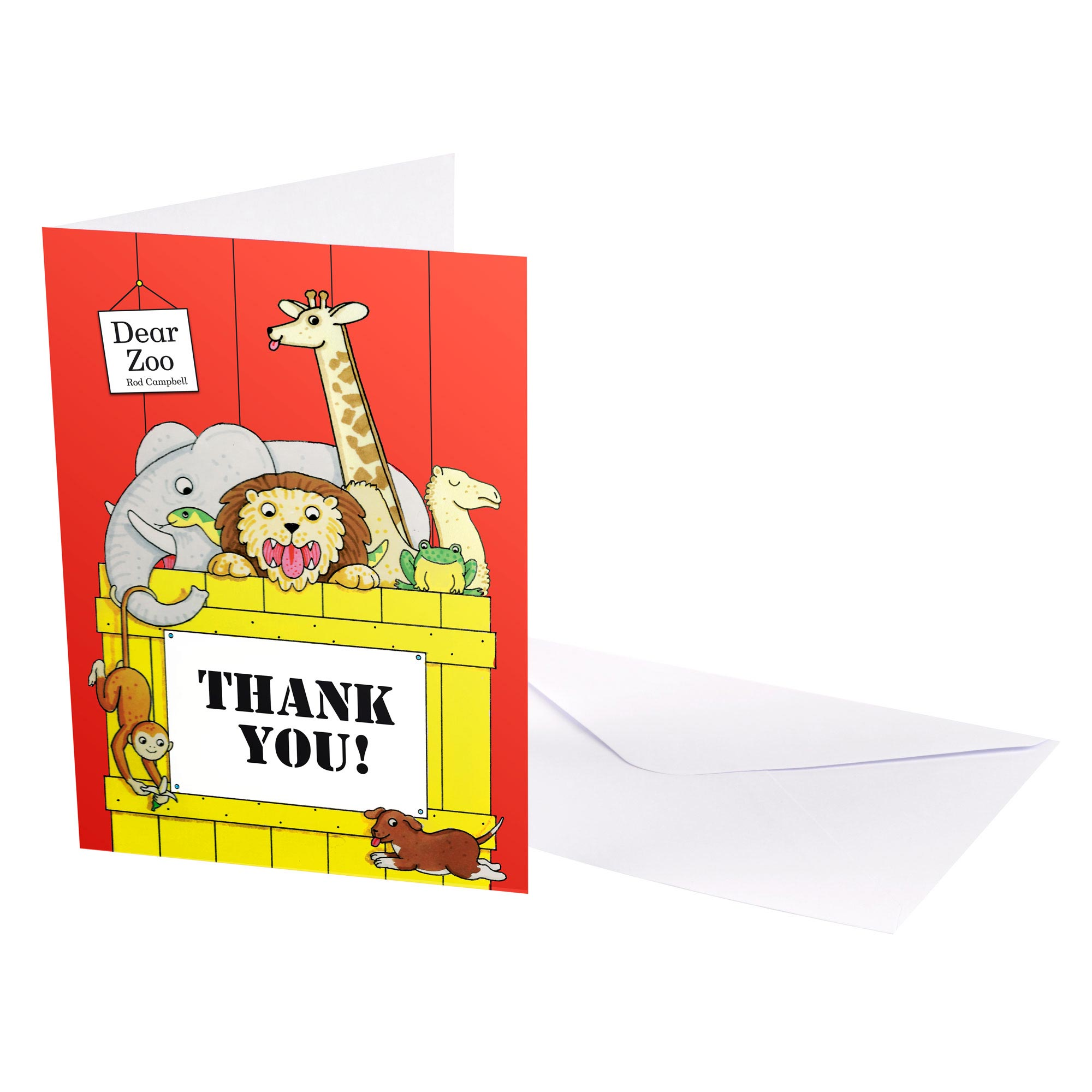 Dear Zoo - Thank You Cards