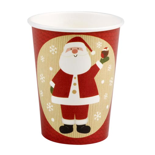 Let It Snow - Father Christmas Cups