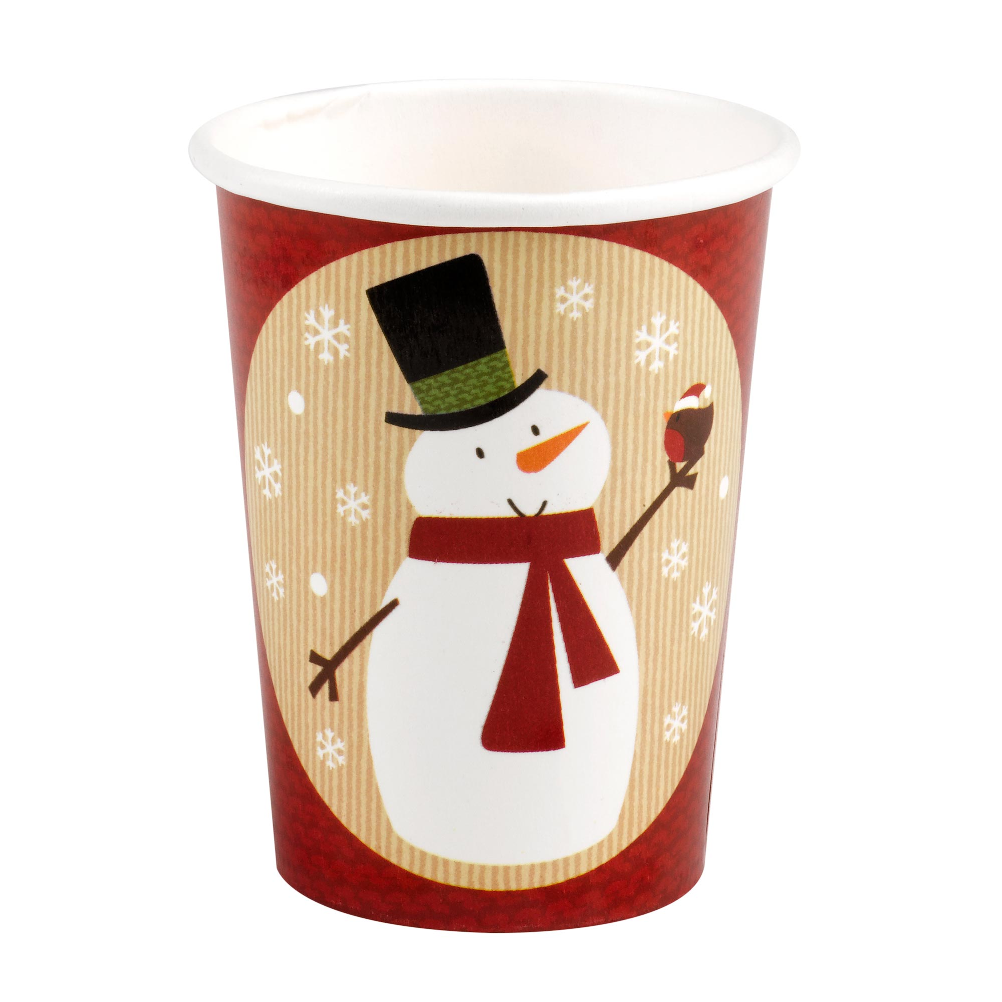Let It Snow - Snowman Cups