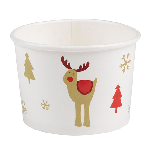 Rocking Rudolf - Ice Cream Tubs
