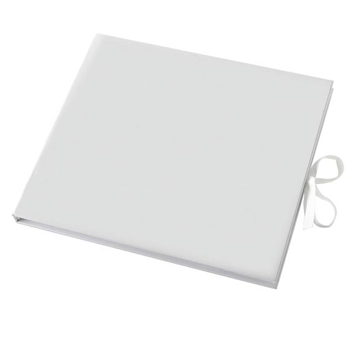 Premium Guest Book - Plain White