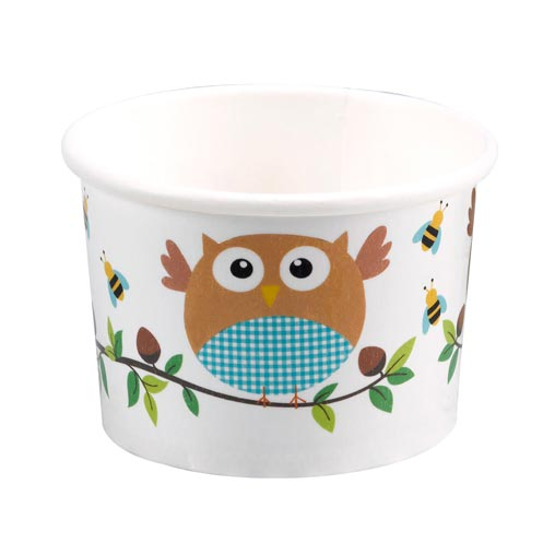 Little Owls - Treat Tubs - Blue