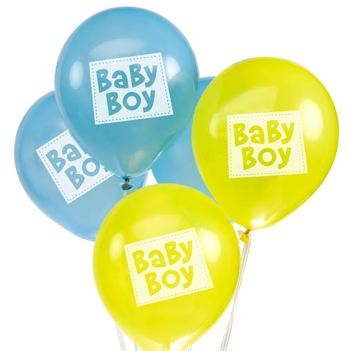 Little Owls - Baby Boy Balloons
