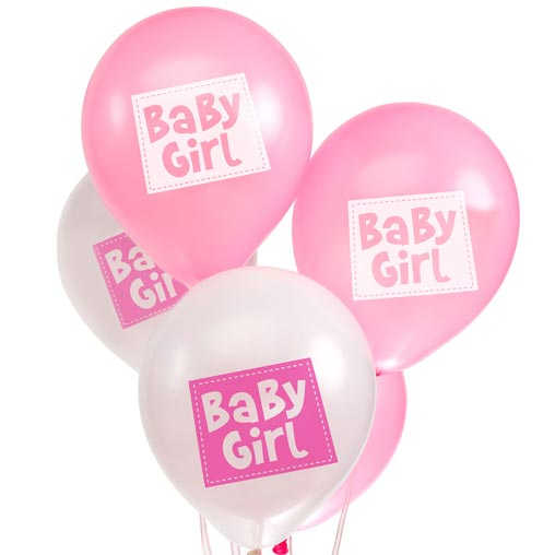 Little Owls - Baby Girl Balloons