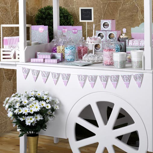 Frills and Spills - Candy Buffet Bunting