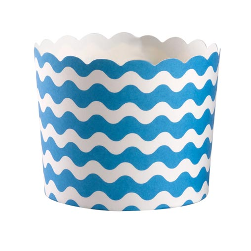 Carnival - Baking Cups - Waves Blue