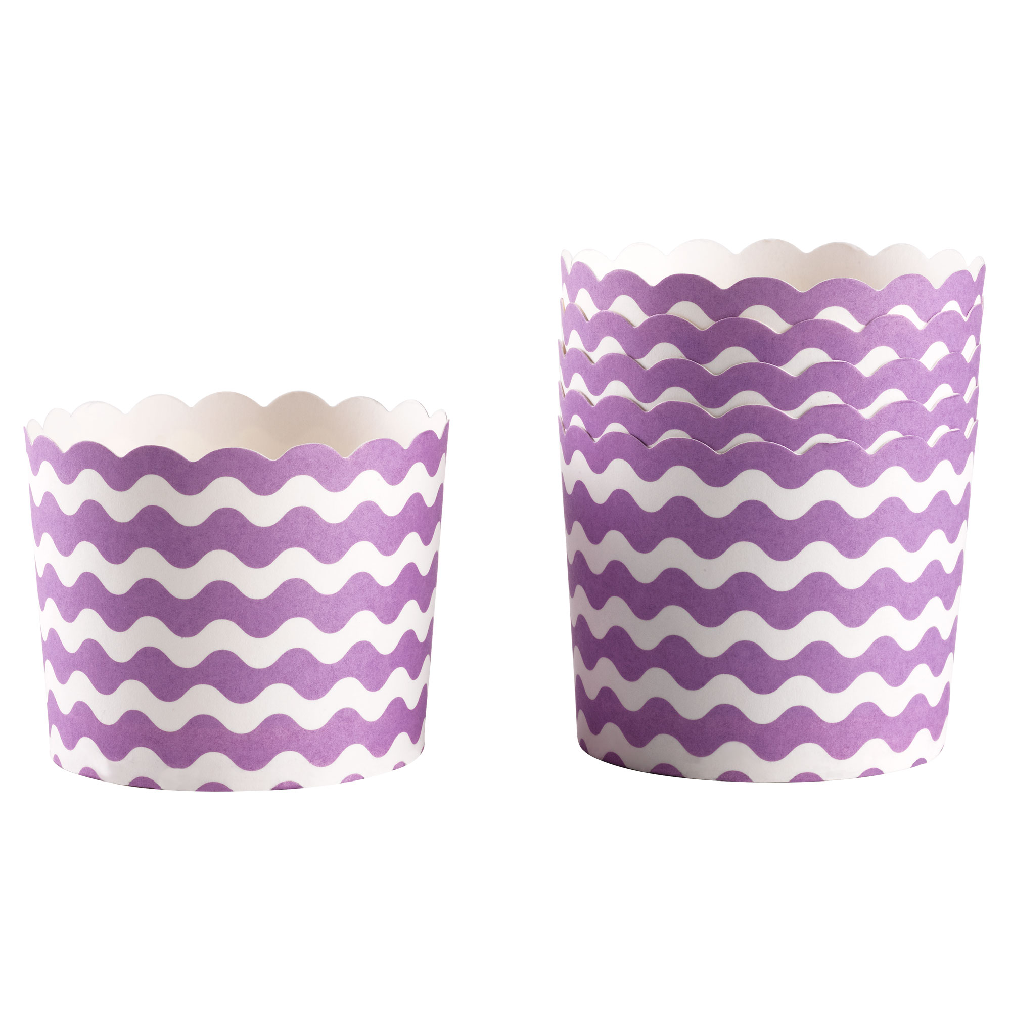 Carnival - Baking Cups - Waves Purple