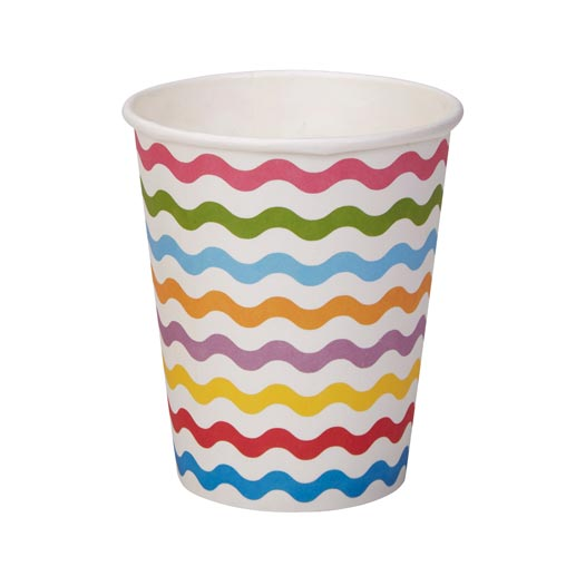 Carnival - Paper Cups - Waves Multi