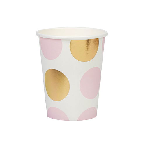 Pattern Works - Cup Pink Dots