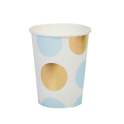 Pattern Works - Cup Blue Dots