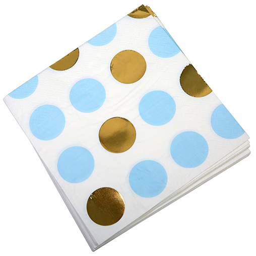 Pattern Works - Napkin Blue Dots