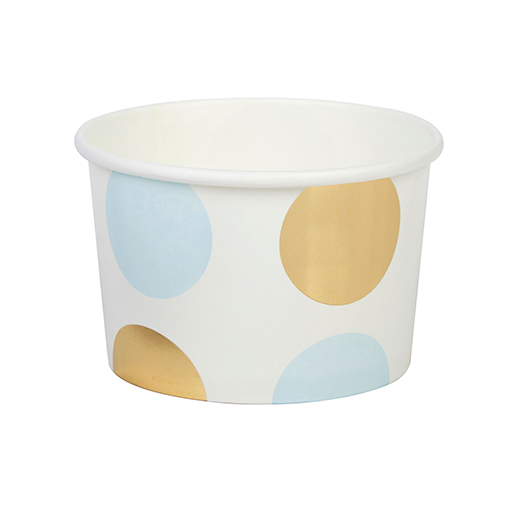 Pattern Works - Tubs Blue Dots