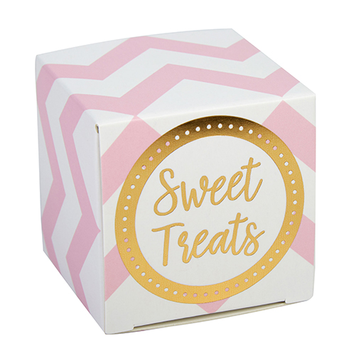Pattern Works - Favour Box Pink