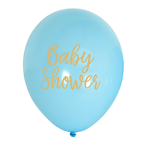 Pattern Works - Balloons Baby Shower Blue