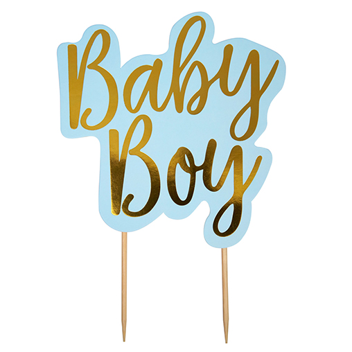 Pattern Works - Cake Topper Baby Boy