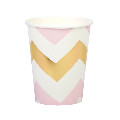Pattern Works - Cup Pink Chevron
