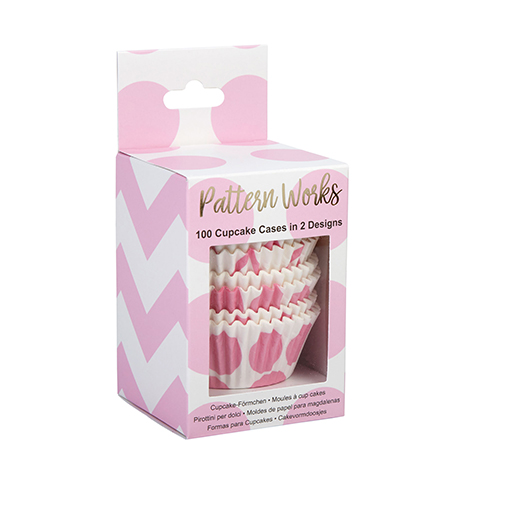 Pattern Works - Cupcake Cases Pink