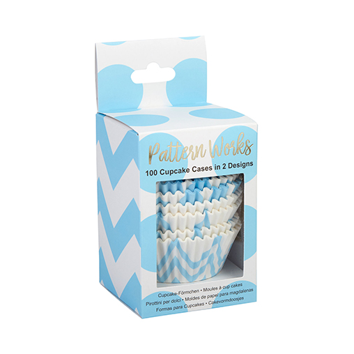 Pattern Works - Cupcake Cases Blue