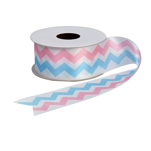 Pattern Works - Chevron Printed Ribbon 38mm x 2.5m roll