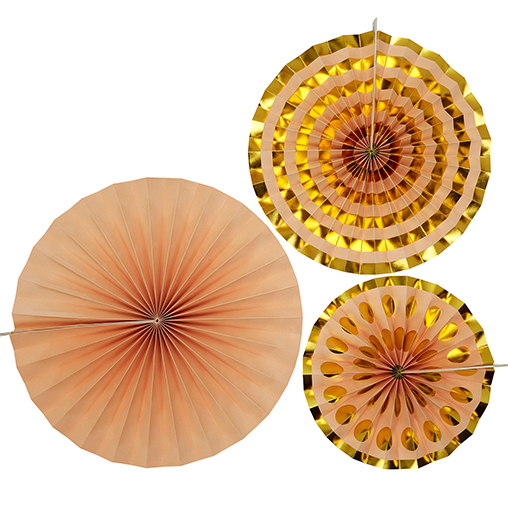 Pinwheels - Peach - 3 Pack