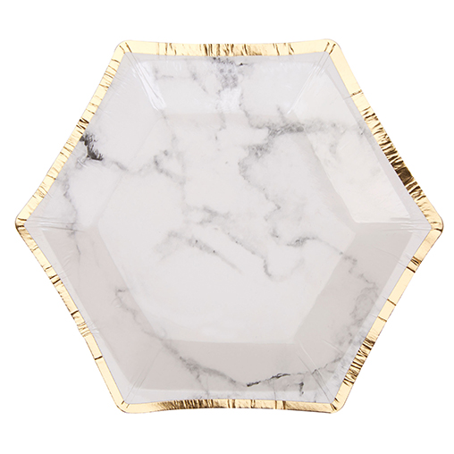 Scripted Marble Plate - Small