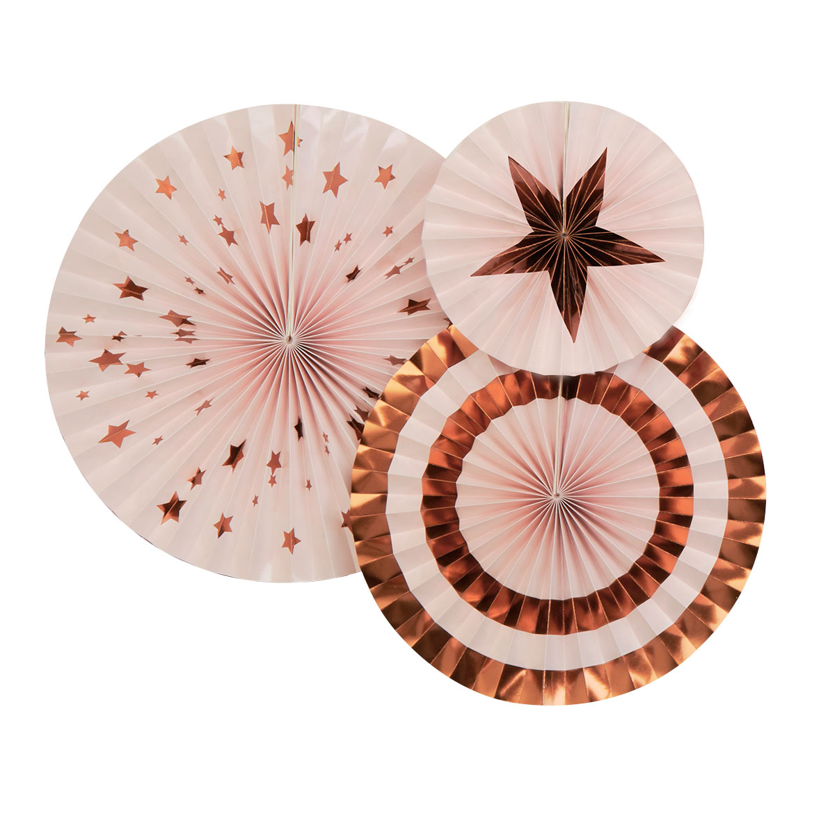 Glitz & Glamour Pinwheels - Pink & Rose Gold - Any Occasion