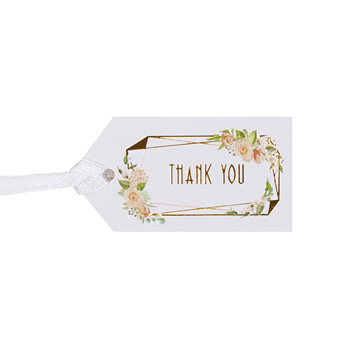 Geo Floral - Small Luggage Tags