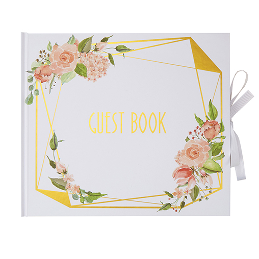 Geo Floral - Guest Book