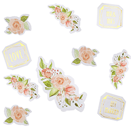 Geo Floral - Wedding Table Scatters