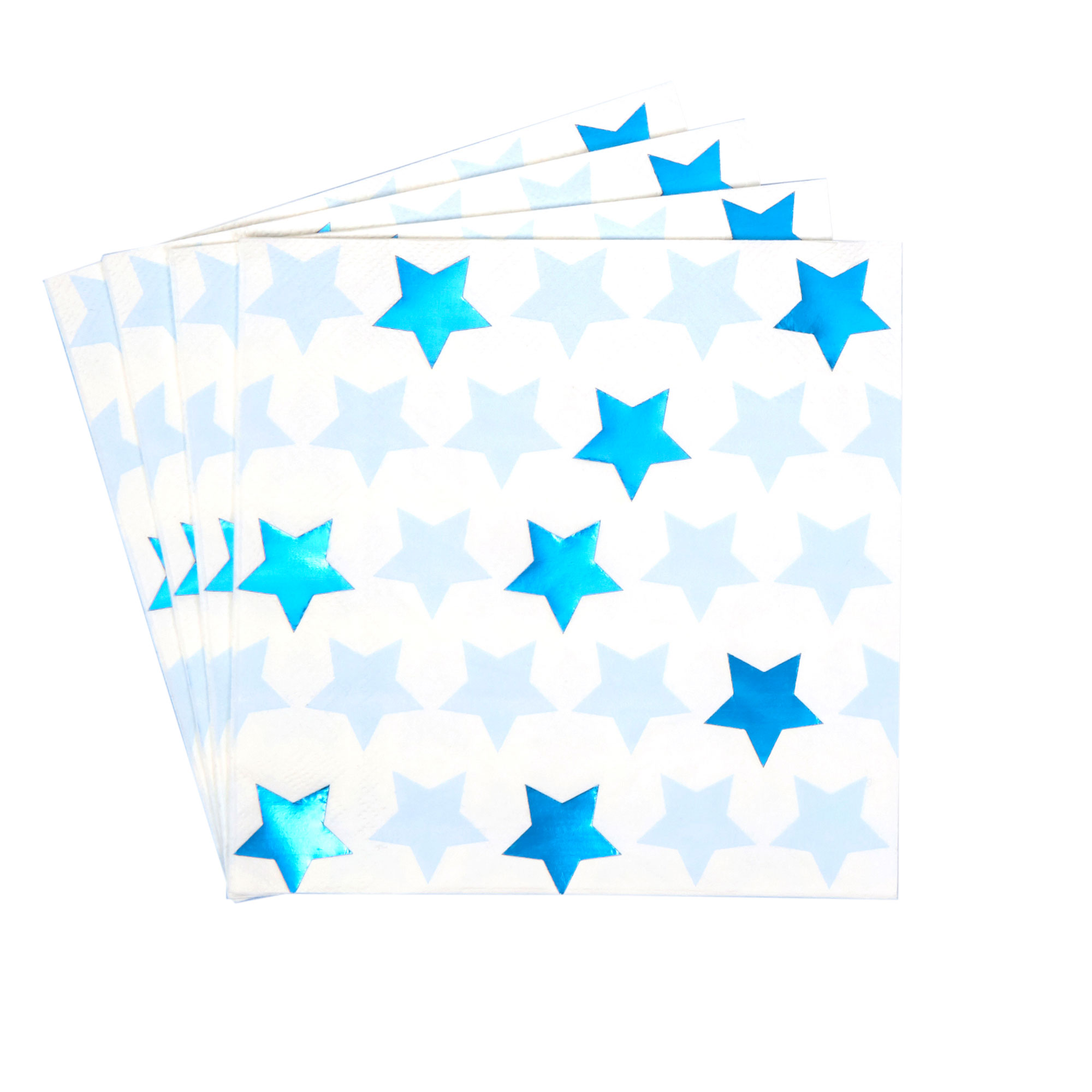 Little Star Blue - Paper Napkins