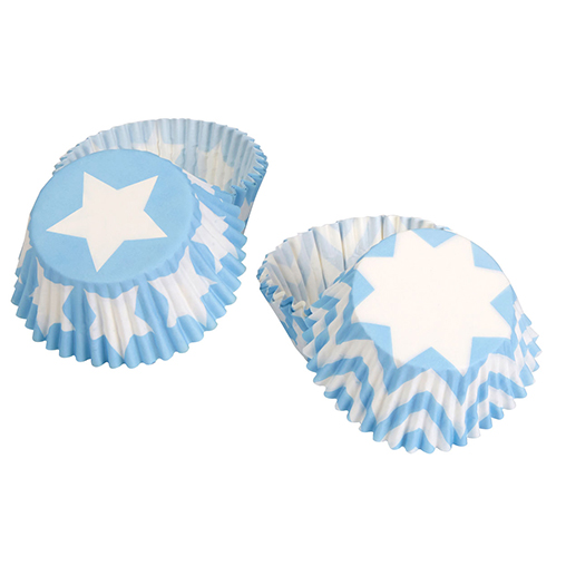 Little Star Blue - Cupcake Cases