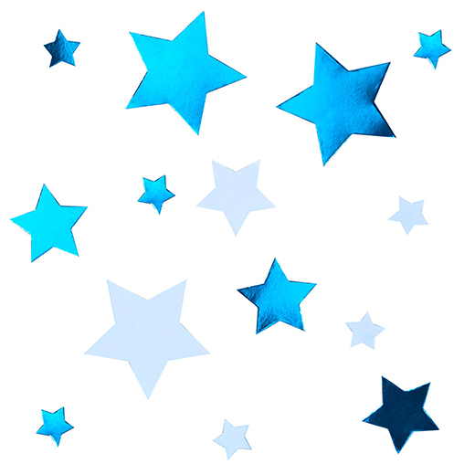 Little Star Blue - Table Scatters