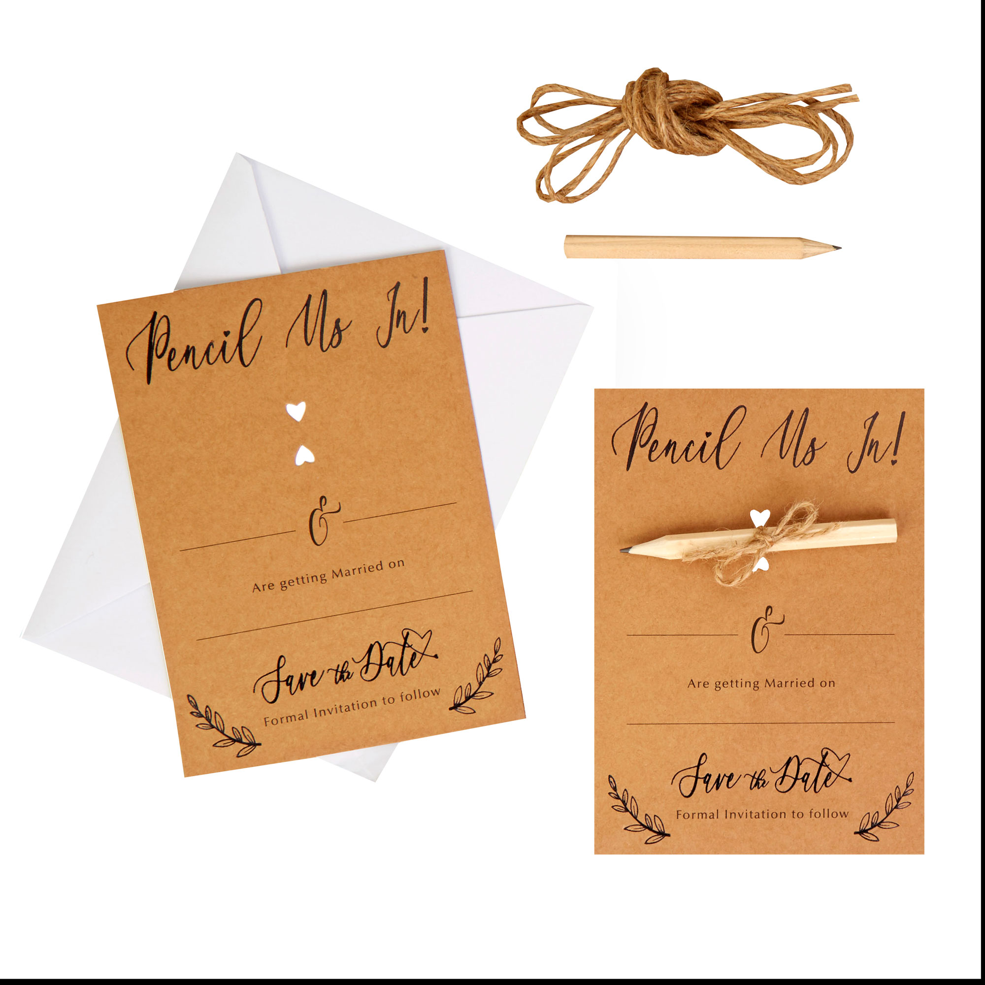 Hearts & Krafts - Save The Date Cards