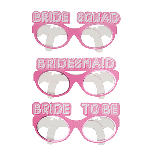 Bride Squad Hen Party Glasses