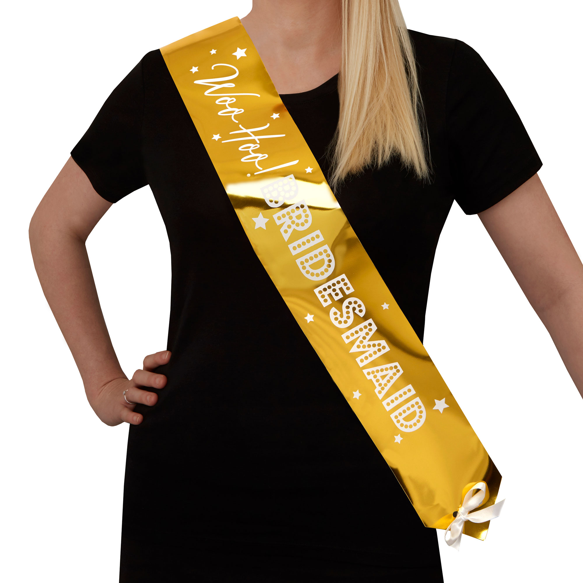 Woo Hoo Hen Do - Bridesmaid Sash