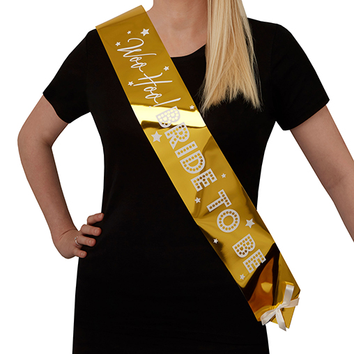 Woo Hoo Hen Do - Bride To Be Sash