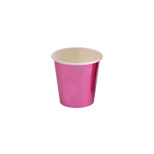 Pink Foil Mini Cup/Shot Glass