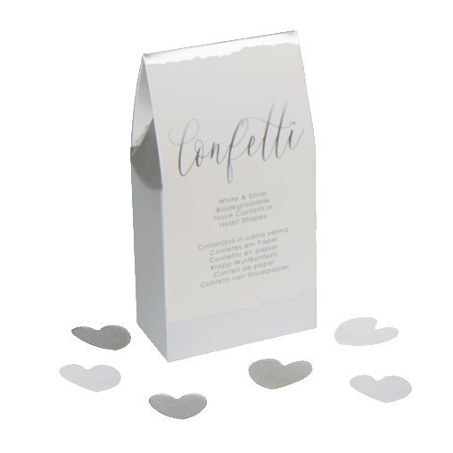 Neviti Dipped in Silver - Tissue Confetti - 20 Pack
