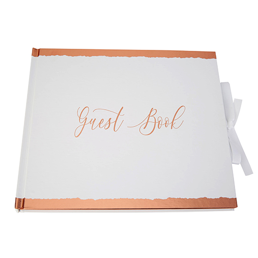 Neviti Dipped In Rose Gold - Guest Book