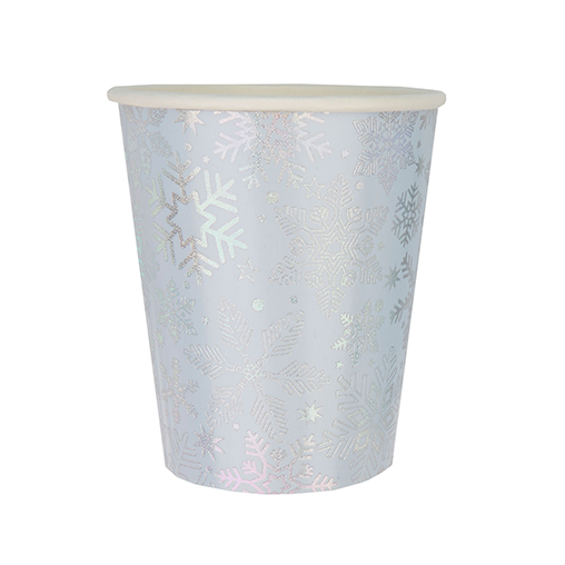 Iridescent Snowflake - Cup