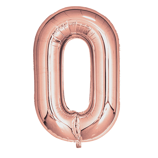 Rose Gold Foil Balloons 810mm (32
