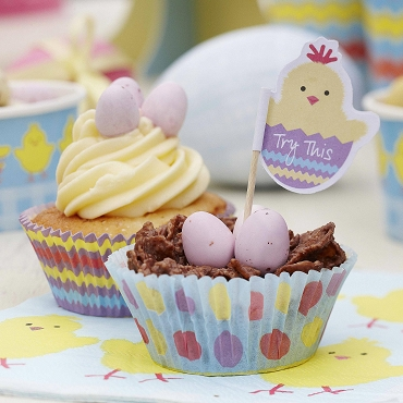 Easter Chick - Cupcake Cases