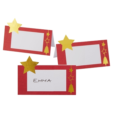 Dazzling Christmas - Place Card