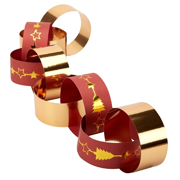 Dazzling Christmas - Paper Chains